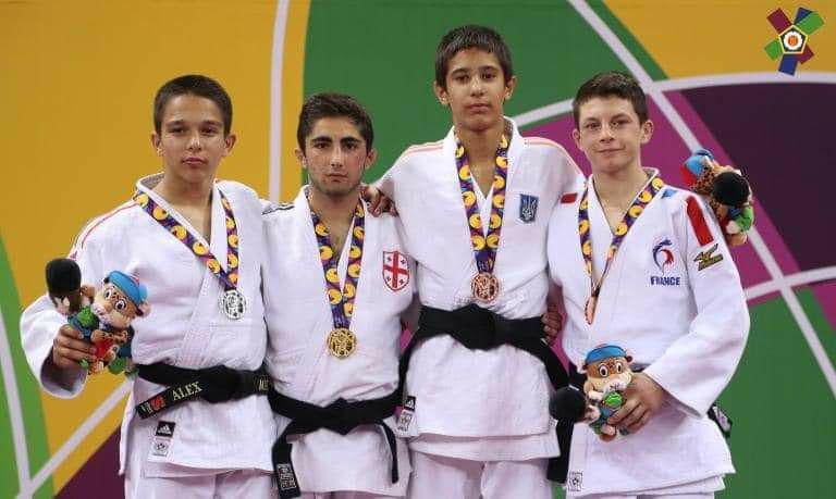Микита Голобородько здобув бронзу у Баку